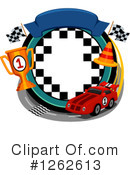 Motorsports Clipart #1262613 by BNP Design Studio