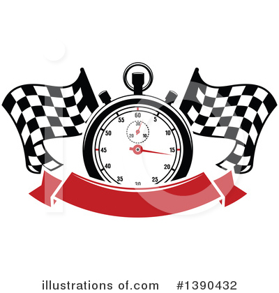 Motorsports Clipart #1390432 by Vector Tradition SM