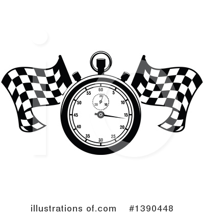 Motorsports Clipart #1390448 by Vector Tradition SM