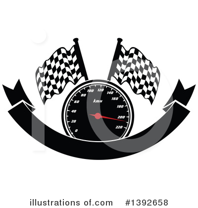 Racing Clipart #1392658 by Vector Tradition SM