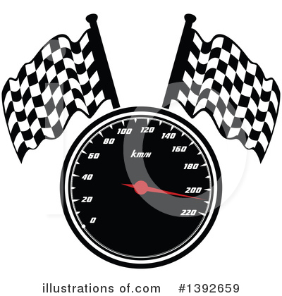 Motorsports Clipart #1392659 by Vector Tradition SM