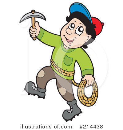 Royalty-Free (RF) Mountain Climber Clipart Illustration by visekart ...