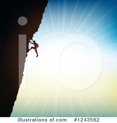 Climbing Clipart #1243562 by KJ Pargeter