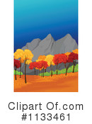 Royalty-Free (RF) Mountains Clipart Illustration #1133461
