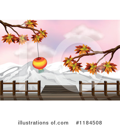 Chinese Lantern Clipart #1184508 by Graphics RF