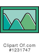 Mountains Clipart #1231747 by Lal Perera