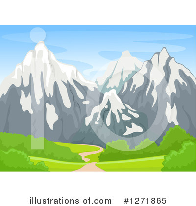 Landscape Clipart #1271865 by BNP Design Studio