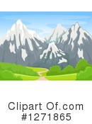 Mountains Clipart #1271865 by BNP Design Studio