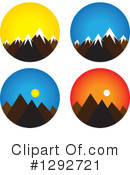 Mountains Clipart #1292721 by ColorMagic