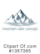 Royalty-Free (RF) Mountains Clipart Illustration #1357365