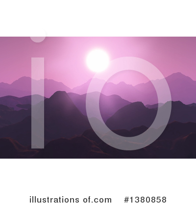 Sunset Clipart #1380858 by KJ Pargeter