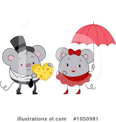 Mouse Clipart #1050981 by BNP Design Studio