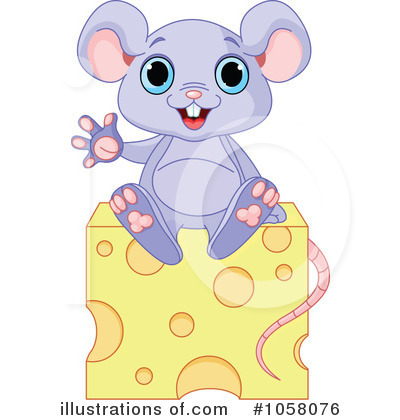 Royalty-Free (RF) Mouse Clipart Illustration by Pushkin - Stock Sample #1058076