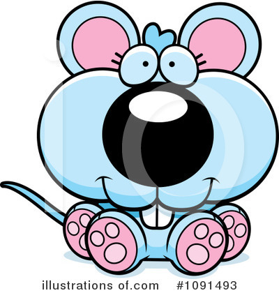 Mouse Clipart #1091493 by Cory Thoman