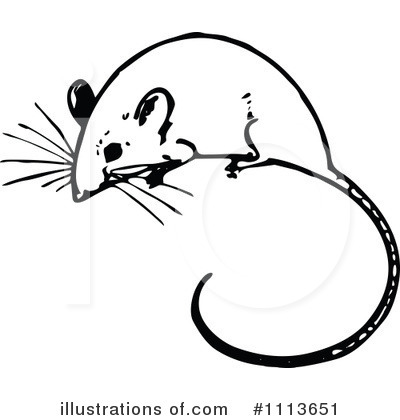 Mouse Clipart #1113651 by Prawny Vintage