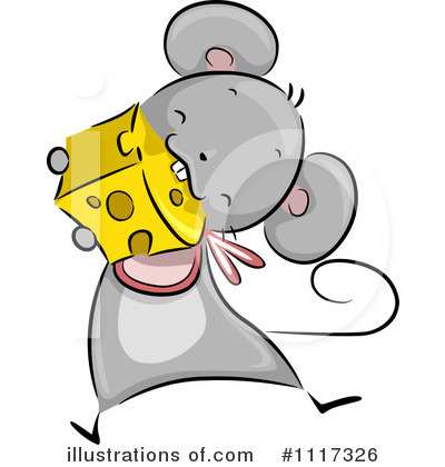 Mouse Clipart #1117326 by BNP Design Studio