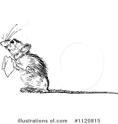 Mouse Clipart #1120815 by Prawny Vintage
