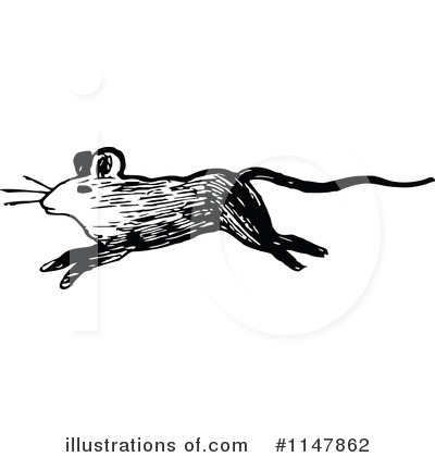 Mouse Clipart #1147862 by Prawny Vintage