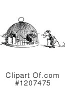 Royalty-Free (RF) Mouse Clipart Illustration #1207475