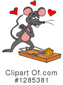 Royalty-Free (RF) Mouse Clipart Illustration #1285381