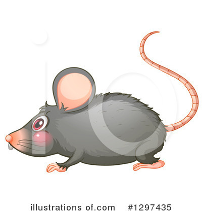 Rat Clipart #1297435 by Graphics RF