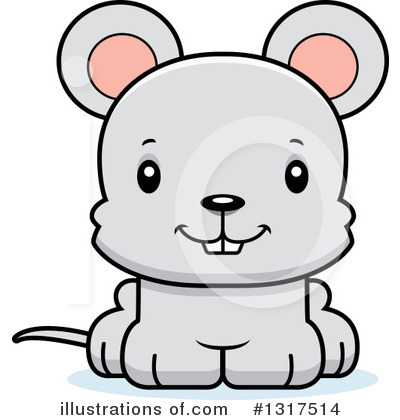 Mouse Clipart #1317514 by Cory Thoman