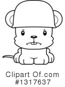 Mouse Clipart #1317637 by Cory Thoman
