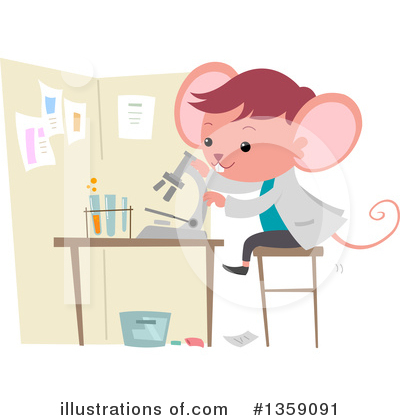 Mouse Clipart #1359091 by BNP Design Studio