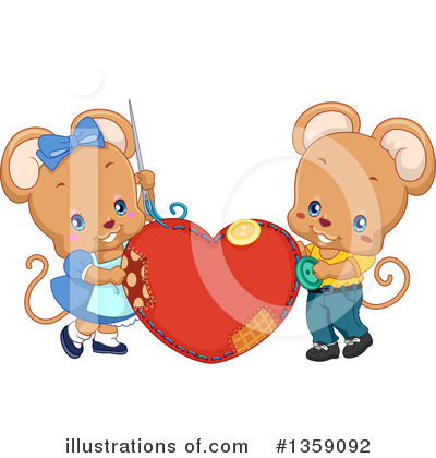 Heart Clipart #1359092 by BNP Design Studio