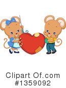 Royalty-Free (RF) Mouse Clipart Illustration #1359092