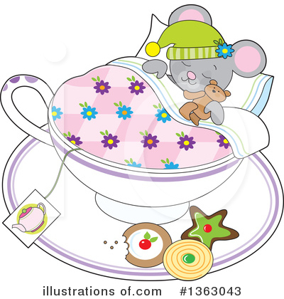 Teddy Bear Clipart #1363043 by Maria Bell
