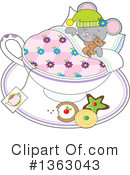Mouse Clipart #1363043 by Maria Bell