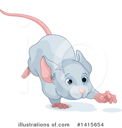 Mouse Clipart #1415654 by Pushkin