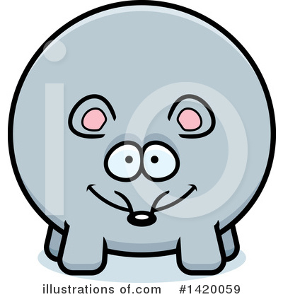 Mouse Clipart #1420059 by Cory Thoman