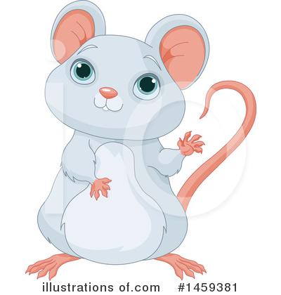 Mouse Clipart #1459381 by Pushkin