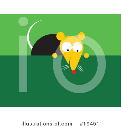 Rat Clipart #19451 by Venki Art