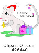 Royalty-Free (RF) Mouse Clipart Illustration #26440