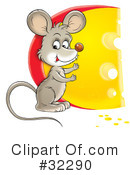 Mouse Clipart #32290 by Alex Bannykh