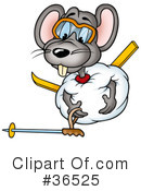 Mouse Clipart #36525 by dero