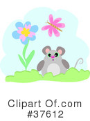 Royalty-Free (RF) Mouse Clipart Illustration #37612