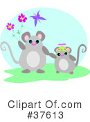 Royalty-Free (RF) Mouse Clipart Illustration #37613