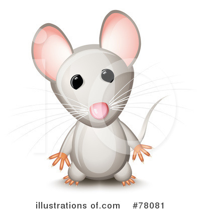 Free cartoon gray field mouse clipart illustration party for Field mouse cartoon