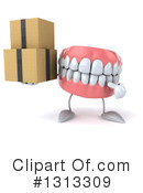 Mouth Character Clipart #1313309 by Julos