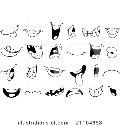 Mouth Clipart #1104653 by yayayoyo