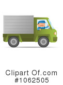 Royalty-Free (RF) Mover Clipart Illustration #1062505