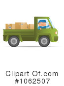 Royalty-Free (RF) Mover Clipart Illustration #1062507