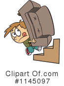 Royalty-Free (RF) mover Clipart Illustration #1145097