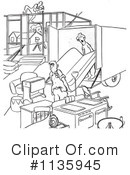 Royalty-Free (RF) Movers Clipart Illustration #1135945