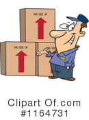 Royalty-Free (RF) Movers Clipart Illustration #1164731