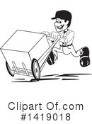 Movers Clipart #1419018 by David Rey